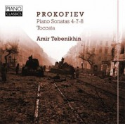 Tebenekhin: Piano sonatas 4-7-8, Toccata - CD