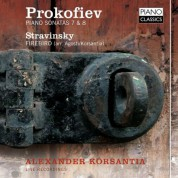 Korsantia: Prokofiev, Stravinsky - CD