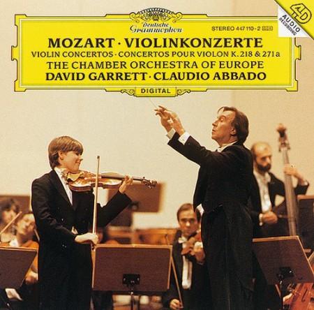 Claudio Abbado, David Garrett, Itamar Golan, Chamber Orchestra of Europe: Mozart: Violin Concertos - CD