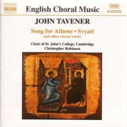 Tavener: Song for Athene / Svyati - CD