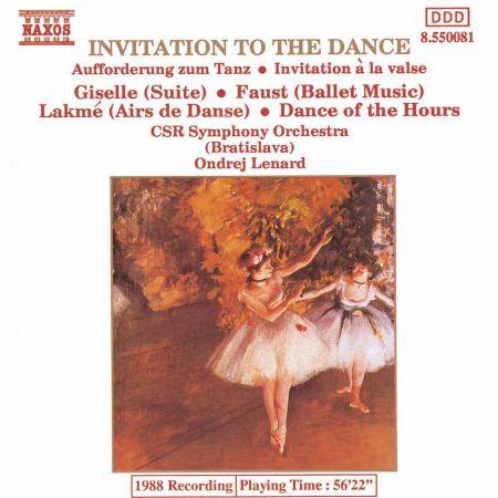 Invitation To The Dance - CD