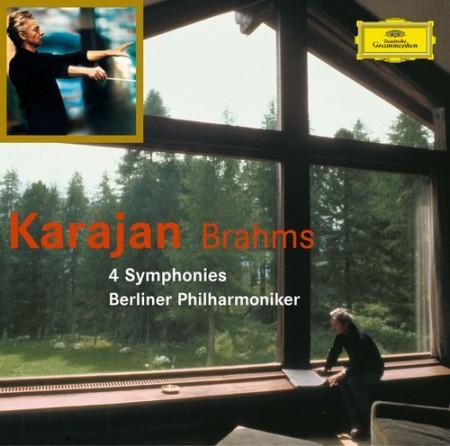Berliner Philharmoniker, Herbert von Karajan: Brahms: 4 Symphonien - CD