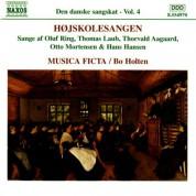 Bo Holten, Musica Ficta: Den danske sangskat, Vol. 4 - CD