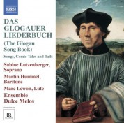 Martin Hummel, Sabine Lutzenberger: Das Glogauer Liederbuch (The Glogau Song Book) - CD