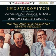 Mstislav Rostropovich: Shostakovitch: Concerto For Cello / Symphony No. 1 - Plak