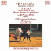 Slovak Radio Symphony Orchestra: Viva Espana:  The Music of Spain - CD