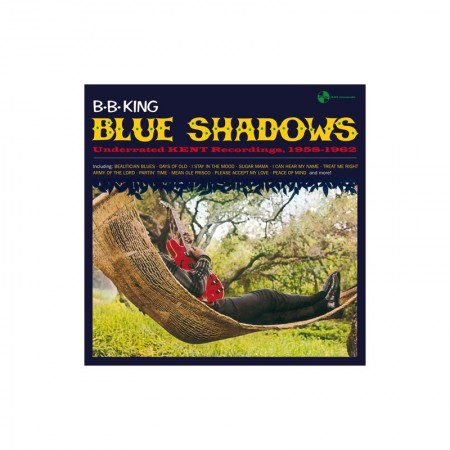 B.B. King: Blue Shadows - Plak