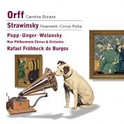 New Philharmonia Orchestra, Rafael Frühbeck de Burgos: Orff: Carmina Burana/ Stravinsky: Fireworks, Circus Polka - CD