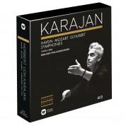 Herbert Von Karajan, Berliner Philharmoniker: Haydn, Mozart, Schubert Symphonies (1970-1981) - CD