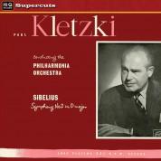 Philharmonia Orchestra, Paul Kletzki: Sibelius: Symphonie No.2 - Plak