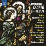 Çeşitli Sanatçılar: Favourite Sacred Masterpieces - CD