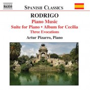 Artur Pizarro: Rodrigo: Piano Music, Vol. 2 - CD