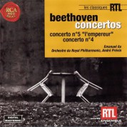 Emanuel Ax, André Previn: Beethoven: Piano Concerto No. 4 - 5 - CD