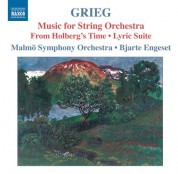Bjarte Engeset: Grieg: Music for String Orchestra - CD