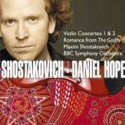 Daniel Hope, Maxim Schostakowitsch, BBC Symphony Orchestra: Shostakovich: Violin Concerto No. 1 & 2 - CD