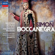 Wiener Philharmoniker, Thomas Hampson, Joseph Calleja, Massimo Zanetti: Verdi: Simon Boccanegra - CD