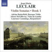 Adrian Butterfield: Leclair, J.-M.: Violin Sonatas, Op. 1, Nos. 1-4 - CD
