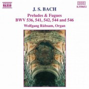 Bach, J.S.: Preludes and Fugues Bwv 536, 541, 542, 544, 546 - CD
