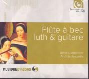 René Clemencic, András Kecskès: Recorder, lute & guitar - CD