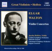 Elgar / Walton: Violin Concertos (Heifetz) (1941, 1949) - CD