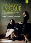 Katja & Marielle Labèque, Il Giardino Armonico, Giovanni Antonimi: J.S. Bach/ C.P.E. Bach, Vivaldi - DVD
