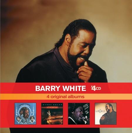 Barry White X4 Original Albums - CD