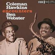 Coleman Hawkins, Ben Webster: Coleman Hawkins Encounters Ben Webster (45rpm, 200g-edition) - Plak