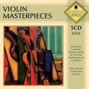 Çeşitli Sanatçılar: Violin Masterpieces-5cd - CD