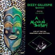 Dizzy Gillespie: A Musical Safari Live At Monterey - Plak