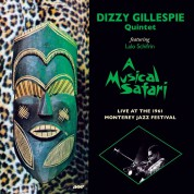 Dizzy Gillespie: A Musical Safari Live At Monterey - Plak