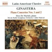 Dora De Marinis: Ginastera: Piano Concertos Nos. 1 & 2 - CD
