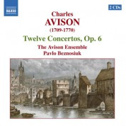 Avison: 12 Concertos, Op. 6 - CD
