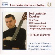 Guitar Recital: Jose Antonio Escobar - CD