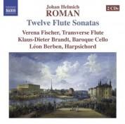 Verena Fischer: Roman, J.H.: 12 Flute Sonatas - CD