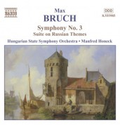Bruch: Symphony No. 3 / Suite On Russian Themes - CD