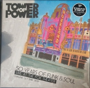 Tower Of Power: 50 Years of Funk & Soul: Live at the Fox Theater – Oakland, CA – June 2018 - Plak