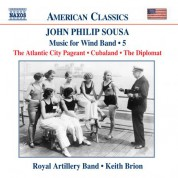 Keith Brion: Sousa, J.P.: Music for Wind Band, Vol.  5 - CD