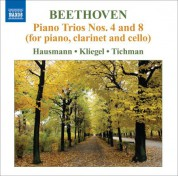 Ib Hausmann: Beethoven: Piano Trios Nos. 4 & 8 (for piano, clarinet & cello) - CD