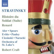 Robert Craft: Stravinsky: Histoire Du Soldat Suite - Renard - CD