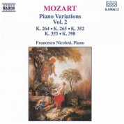 Francesco Nicolosi: Mozart: Piano Variations, Vol.  2 - CD
