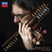 Gewandhausorchester Leipzig, Leonidas Kavakos, Péter Nagy, Riccardo Chailly: Brahms: Violin Concerto - CD