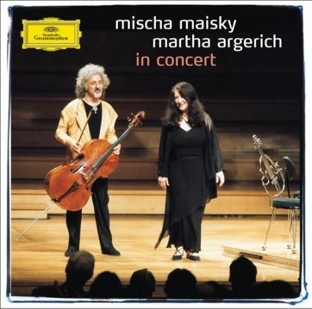 Mischa Maisky, Martha Argerich - In Concert - CD
