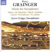 Grainger: Music for Saxophones - CD