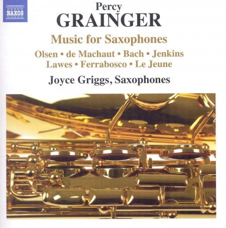Grainger: Music for Saxophones - CD