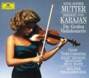 Anne-Sophie Mutter, Berliner Philharmoniker, Herbert von Karajan: Anne-Sophie Mutter - Grosse Violinkonzerte - CD