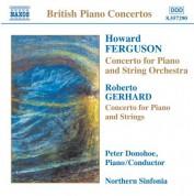 Ferguson / Gerhard / Rowley / Darnton: Piano Concertos - CD