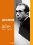 Alexis Weissenberg: Stravinsky, Prokofiev, Scriabin, Rachmaninov, Chopin, Bach, Brahms - DVD
