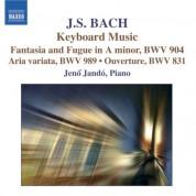 Jenö Jandó: Bach: Chromatic Fantasia and Fugue / Aria Variata / French Overture - CD