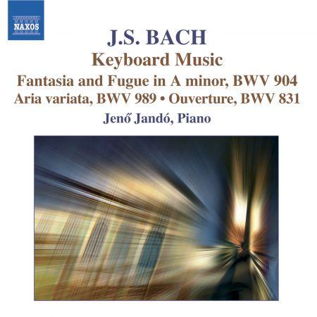 Jeno Jando: Bach: Chromatic Fantasia and Fugue / Aria Variata / French Overture - CD