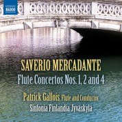 Patrick Gallois: Mercadante: Flute Concertos Nos. 1, 2 & 4 - CD